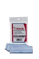 Staticide Blue Microfiber Cloth  9  x 9 MFC1
