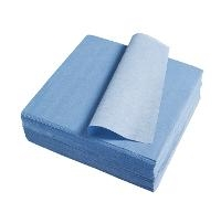 Blue Low Lint 9  x 9   300 wipes per bag LF99B