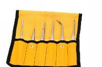 Tweezers Set 6pc  GP in Plastic Pouch 18472