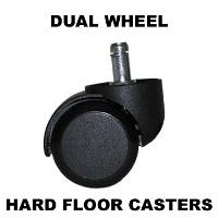 Dual Wheel Hard Floor Casters  adds 1 CADS 5