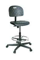 V7 Black Polyurethane Chair 21 5    31 V7507HC