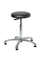 Backless Cleanroom Stool   21 5    31 5 3550C1V