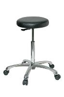 Vinyl Backless Stool   21 5    31 5 3550 V