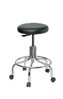 Vinyl Backless Stool   19    24 3210 V