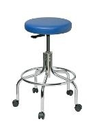 Vinyl Backless Stool   24    29 3610 V
