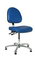 Deluxe Cleanroom Chair w Tilt  15 5  21 9051MC4