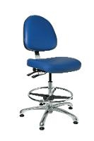 Deluxe Cleanroom Chair w Tilt  19  26 5 9351MC3