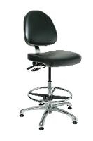 Cleanroom Chair w Tilt   21 5    31 5 9551MC1