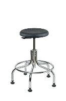 Backless Cleanroom Stool   18    23 3210C1P