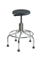 Backless Cleanroom Stool   23    28 3610C1P