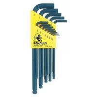 Set 13 Balldriver L Wrenches  050 3 8 10937