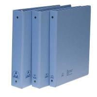 Blue 1 50  ESD Safe Binder B7415