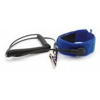 Hook   Loop Wrist Strap  Blue   6  Cord B9268