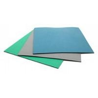 ESD Table Mat  Rubber 2 Layer   Green B6223
