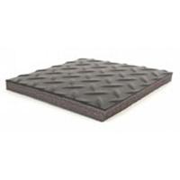 ESD Diamond Plate Mat w Grid   2  x 3 B4223