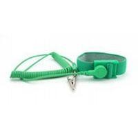 Wrist Strap w 6  Coil Cord  Green B9008G