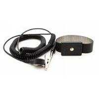 Adjustable Metal Wrist Strap Set  Black B9479