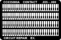 Circuit Frame  Contacts  035  x  080 CC035080AG