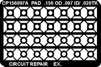 Circuit Frame  PTH Pads  156 OD x  097 I CP156097AS