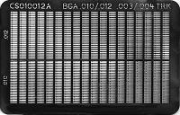 Circuit Frame  BGA Pad   010  012   003 CS010012AS