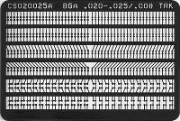 Circuit Frame BGA Pads   020  x  025 CS020025AS
