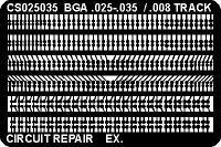Circuit Frame  BGA Pads   025  x  035 CS025035AS