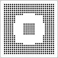 Flextac BGA Rework Stencil  Pack of 10 B8 492 3535 127