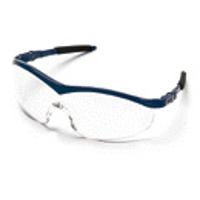 Crews ST120  Safety Glasses Navy Clear ST120