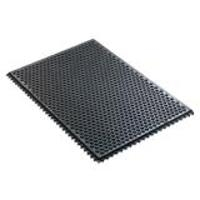 Black Conductive Floor Mat  1 2 x24 x36 40930