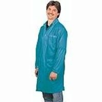 Statshield Lab Coat  Snaps  Teal  XL 73644