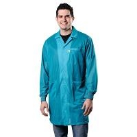 Statshield Lab Coat  Cuffs  Teal  S 73651