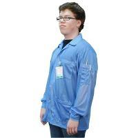 Statshield Jacket  Cuffs  Blue  S 73750
