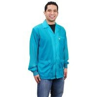 ESD Jacket w  Cuffs  Teal  3XL 73856