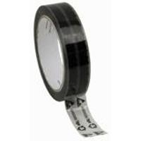 ESD Clear Tape Symbols 1 x72yd 3  Core 81229