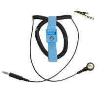Adjustable Blue Wrist Strap  10  Cord 04541