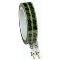 Clear ESD Tape w Yellow Stripe   1 79277