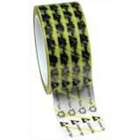 Clear ESD Tape w Yellow Stripe   2 79278