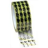 Clear ESD Tape w Yellow Stripe   2 79278