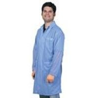 Statshield Lab Coat w Snaps  Blue   5XL 73608EE