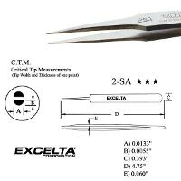 4 75  Tapered Medium Tip Tweezer 2 SA