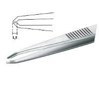 4 5  SMD Flat Tip Tweezer 122 SA