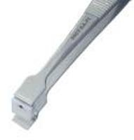 4 75  Teflon Pad Wafer Handling Tweezer 390T SA PI