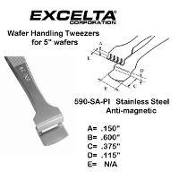 5  Wafer Handling Tweezer 590 SA PI