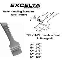 5  Wafer Handling Tweezer 590L SA PI