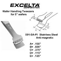 5  Wafer Handling Tweezer 591 SA PI