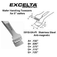5  Wafer Handling Tweezer 591B SA PI
