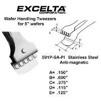 5  Wafer Handling Tweezer 591P SA PI