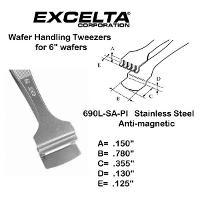5  Wafer Handling Tweezer 690L SA PI