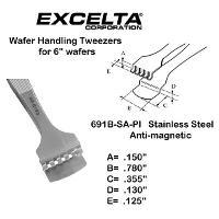 5  Wafer Handling Tweezer 691B SA PI