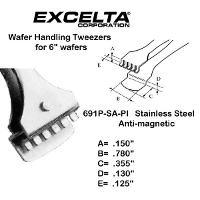 5  Wafer Handling Tweezer 691P SA PI